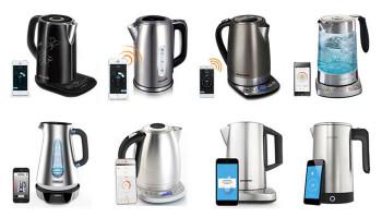 Обзор умных чайников REDMOND M170S / M171S / M173S, Polaris PWK 1792 CGL, Smarter iKettle 1.0 / 2.0