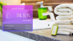 Умный гигрометр/термометр bluSensor AIR защищает умный дом от плесени