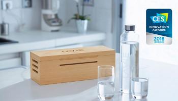 Solable LAVIE обогащает водопроводную воду до уровня минеральной воды