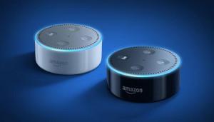Голосовой помощник смарт-динамик Amazon Echo Dot второго поколения