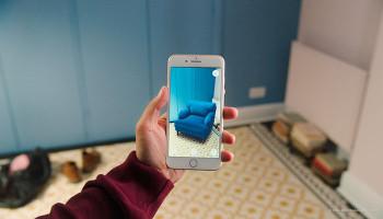 Приложение IKEA PLACE: виртуальное размещение мебели и ламп